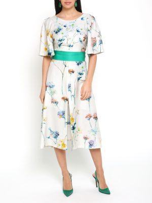 Crystal Flower Dress