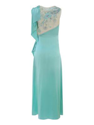Azore Peacock Dress
