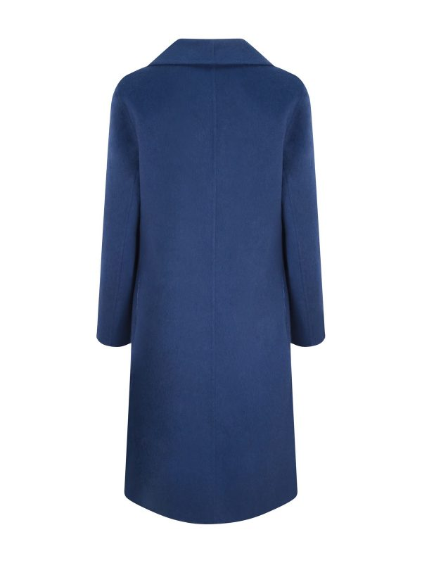 Sapphire Cashmere Coat