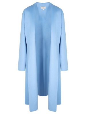 Azure Cashmere Coat
