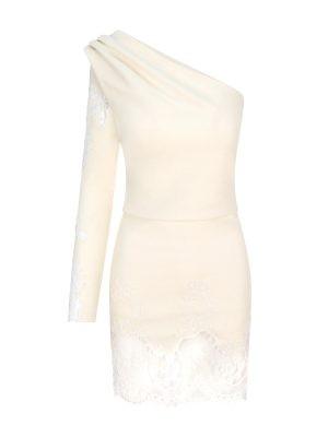 White Coral Lace Dress