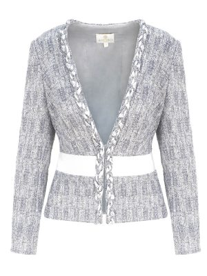 Silver Crystal Jacket