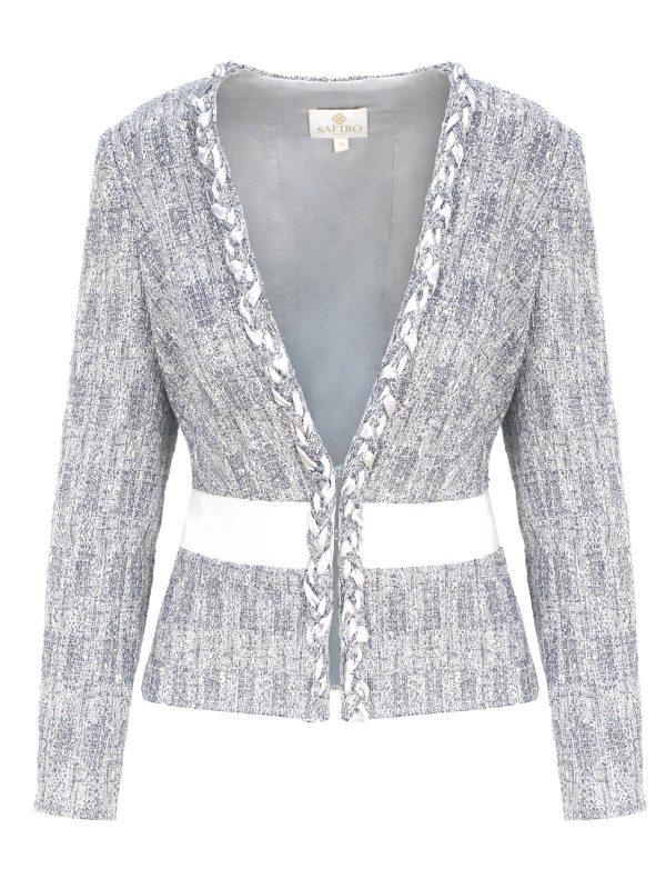Silver Crystal Jacket
