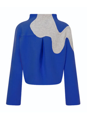 Orchid Kimono Jacket (Royal Blue)