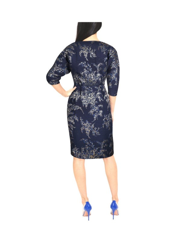 Night Blue Crystal Dress