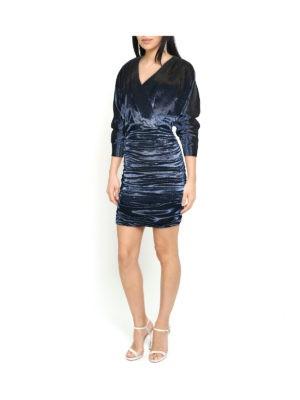 SAFIRO Platinum Pearl Dress (Blue)