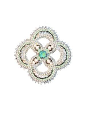 SAFIRO Crystal Brooch