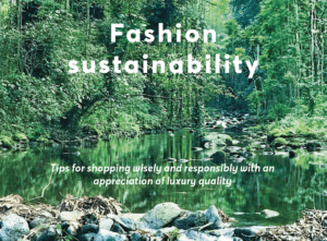Fashion Sustainability Tips from SAFIRO Safiro