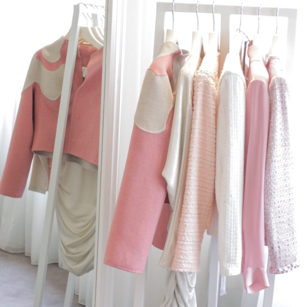 Summer pastel clothing for women