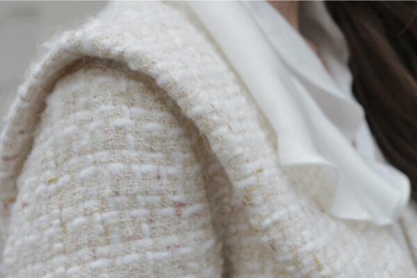 Champagne Opal Tweed Jacket